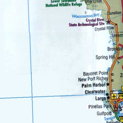 Where Is New Port Richey Florida On Florida Map.Map Of Florida