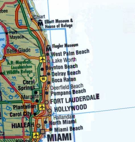 Map Of Florida - Map of florida city